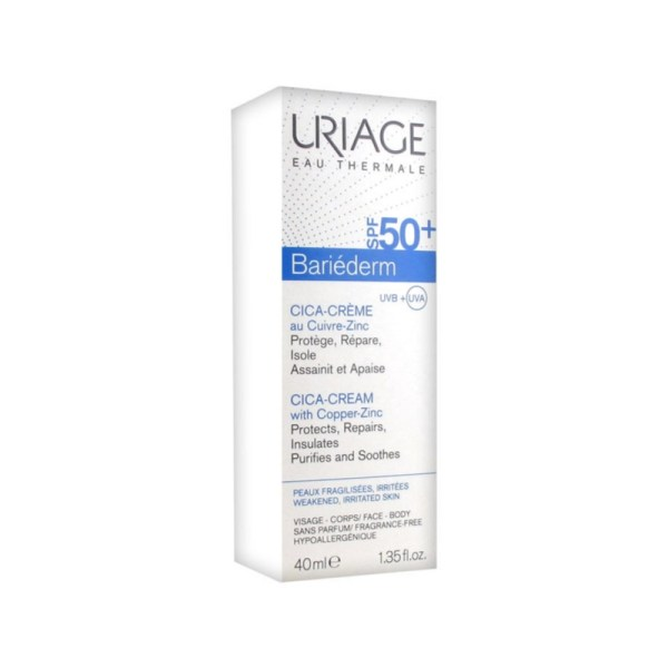 Uriage Bariéderm Repairing Cica-Cream 40ml