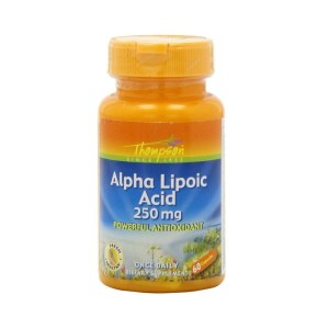 Thompson Alpha Lipoic Acid 250mg – 60 Capsules –