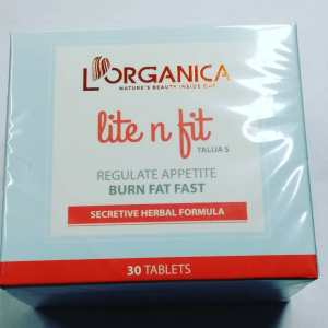 L'Organica Lite n Fit – 30 Tablets –