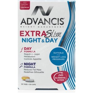 Advancis Extra Slim Night & Day – 30 tabs + 30 caps –