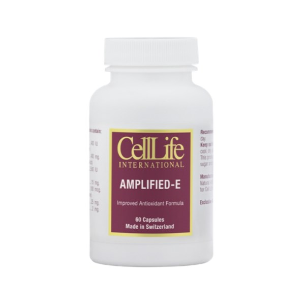 Celllife Amplified E – 60 Capsules –