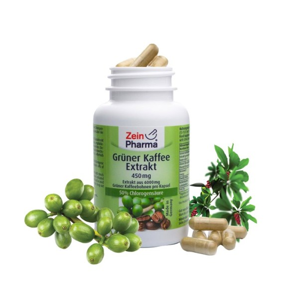 Green Coffee Extract – 450 mg –