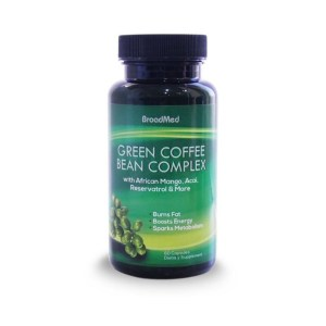 BroadMed Green Coffee Bean Complex – 60 Capsules –