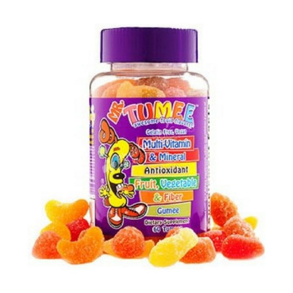MR. TUMEE multivitamin and Mineral Vegetables, Fruits and Fiber – 60 Tumees –