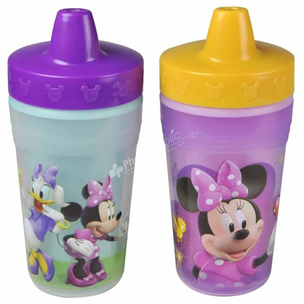 The First Years Disney Minnie Mouse Insulated Sippy Cups 9m+ -2 Pcs-