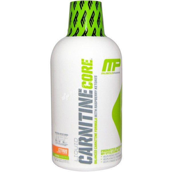 MusclePharm Liquid Carnitine Core – Citrus