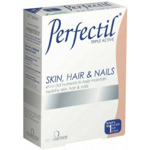 Vitabiotics Perfectil Triple Active Skin, Hair and Nails 30 Tablets