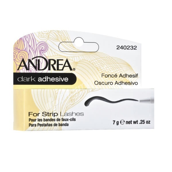 Andrea Dark Adhesive For Strip Lashes -7g-