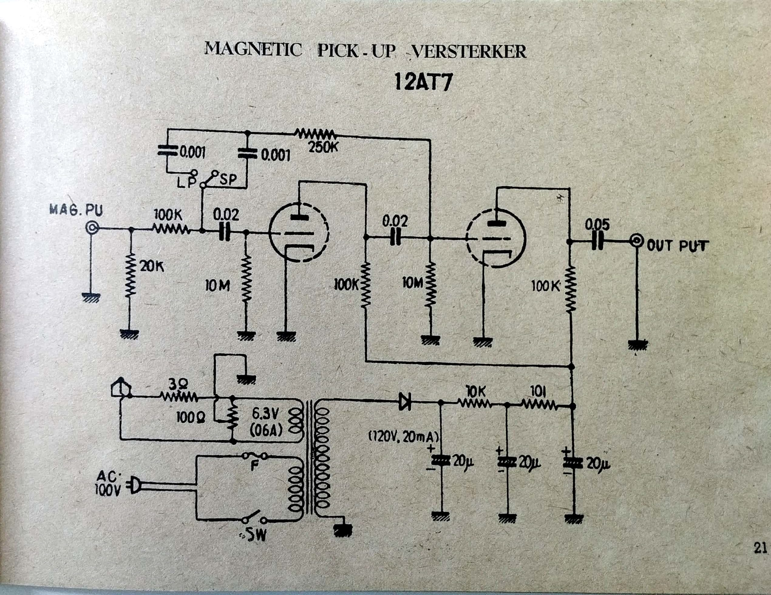 Search Schematic Of Tube Preamplifier For This Amplifier - Wiring