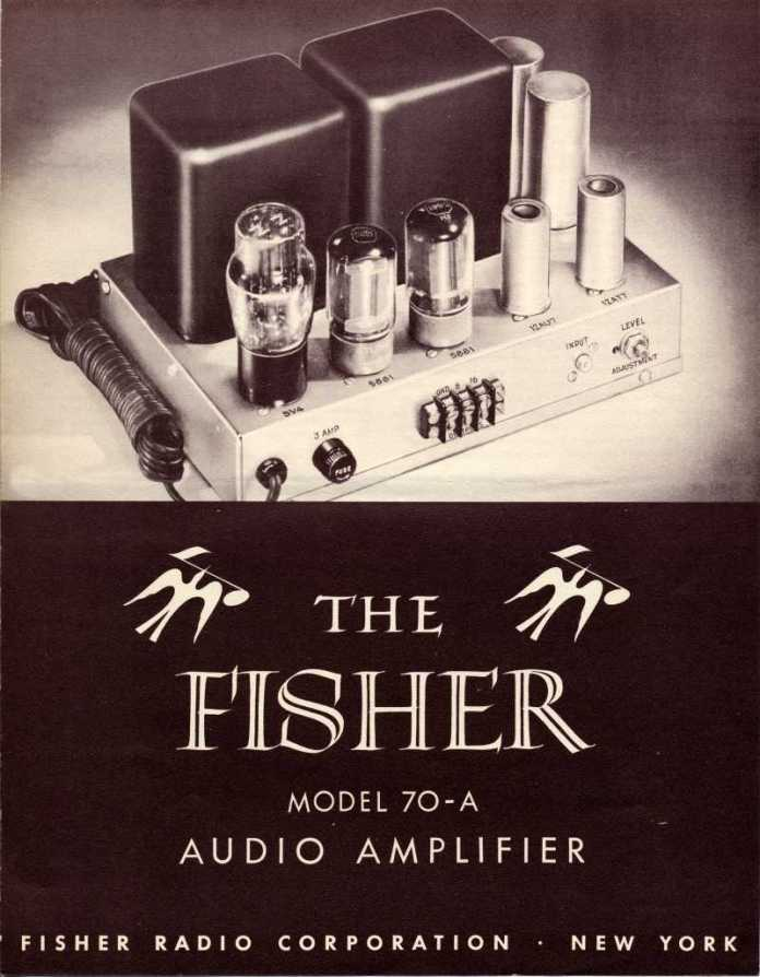 fisher amplifier 70a