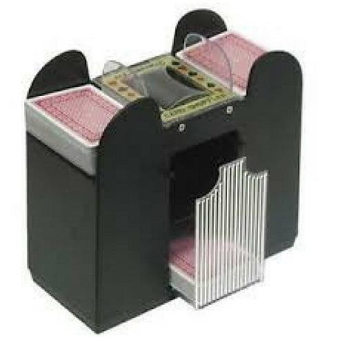 Card Shuffler Automatic 6 Deck Automatic Machine Poker Casino Dealer Electric