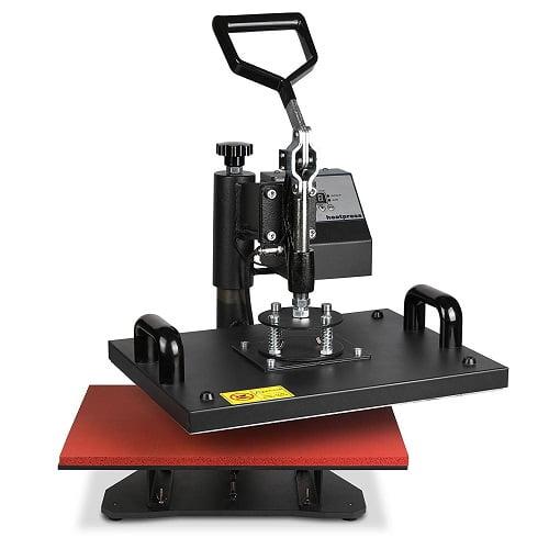OrangeA Heat Press 8 in 1 Swing Away Heat Press Machine
