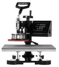 VEVOR Heat Presses 15 X 15 Inch 5 in 1 Digital Multifunctional Sublimation T Shirt Heat Press Machine