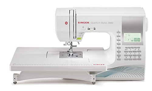 SINGER 9960 Quantum Stylist 600-Stitch Computerized Sewing Machine