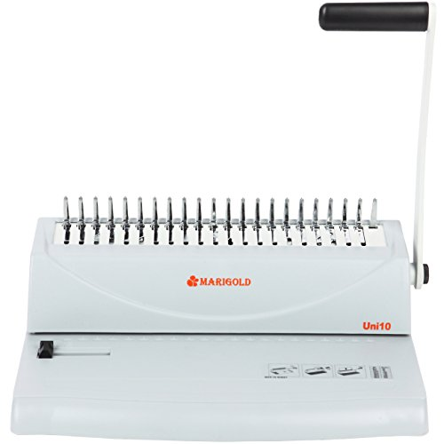 Marigold 19-hole Letter Size Comb Ring Binding Machine