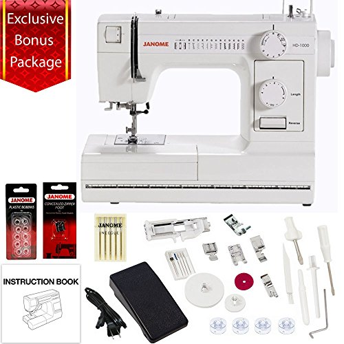 Janome HD1000 Mechanical Sewing Machine