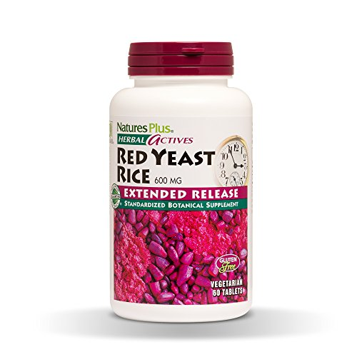 Nature's Plus - Herbal Actives Red Yeast Rice 600 mg