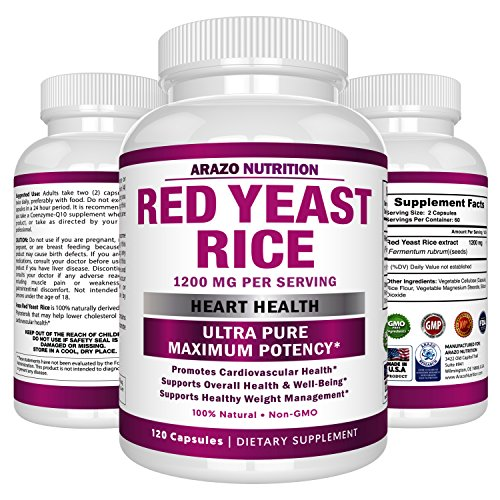 Arazo Nutrition Red Yeast Rice Extract 1200 mg