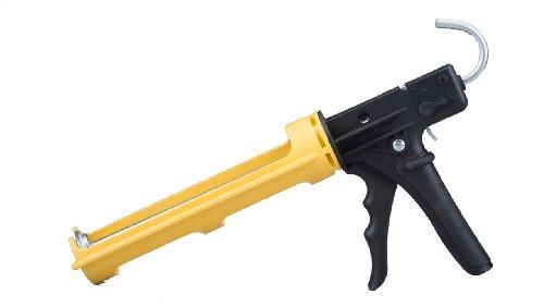 Dripless 10oz Industrial Ergonomic Composite Caulk Gun