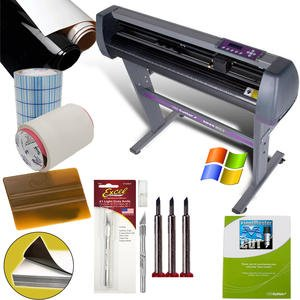 28 INCH VINYL CUTTER VALUE SIGN MAKING BUNDLE