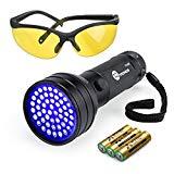UV Flashlight Black Lights, TaoTronics 51 Ultravilot Urine Detector