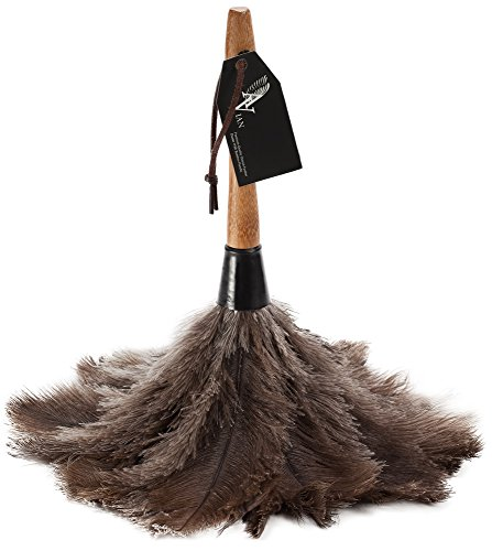 Avian Ostrich Feather Duster with Bamboo Handle
