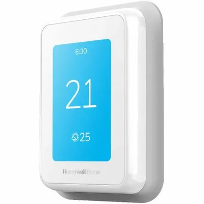 Smart thermostats at Olds Home Hardware.
