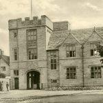 Entrance to Sherborne School, c.1924