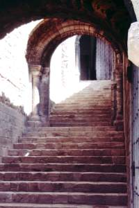 Norfolk - Norfolk-1968-07-Castle-Rising-Staircase.jpg