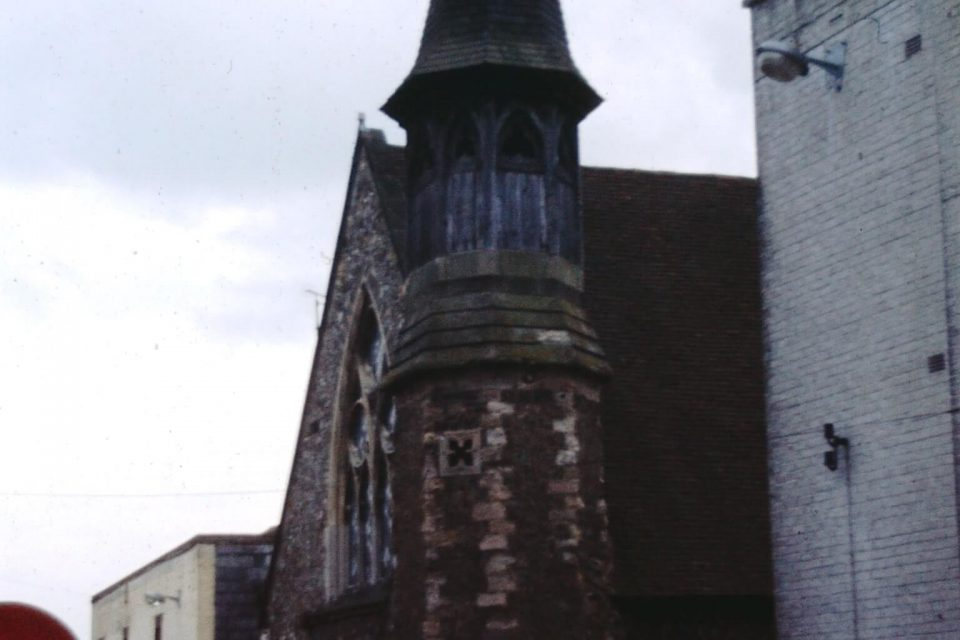 Sussex - Sussex-1974-03-Wooden-Towered-Church-Petworth.jpg
