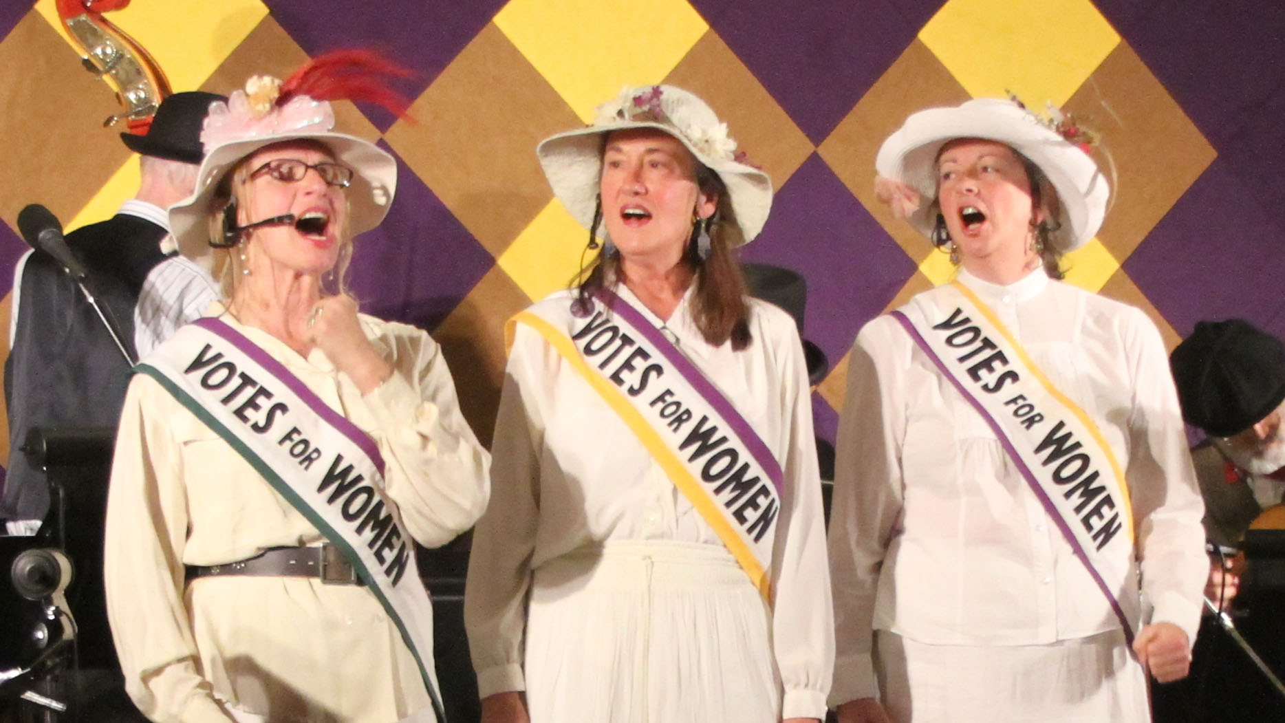 New York Women: Singing for Suffrage