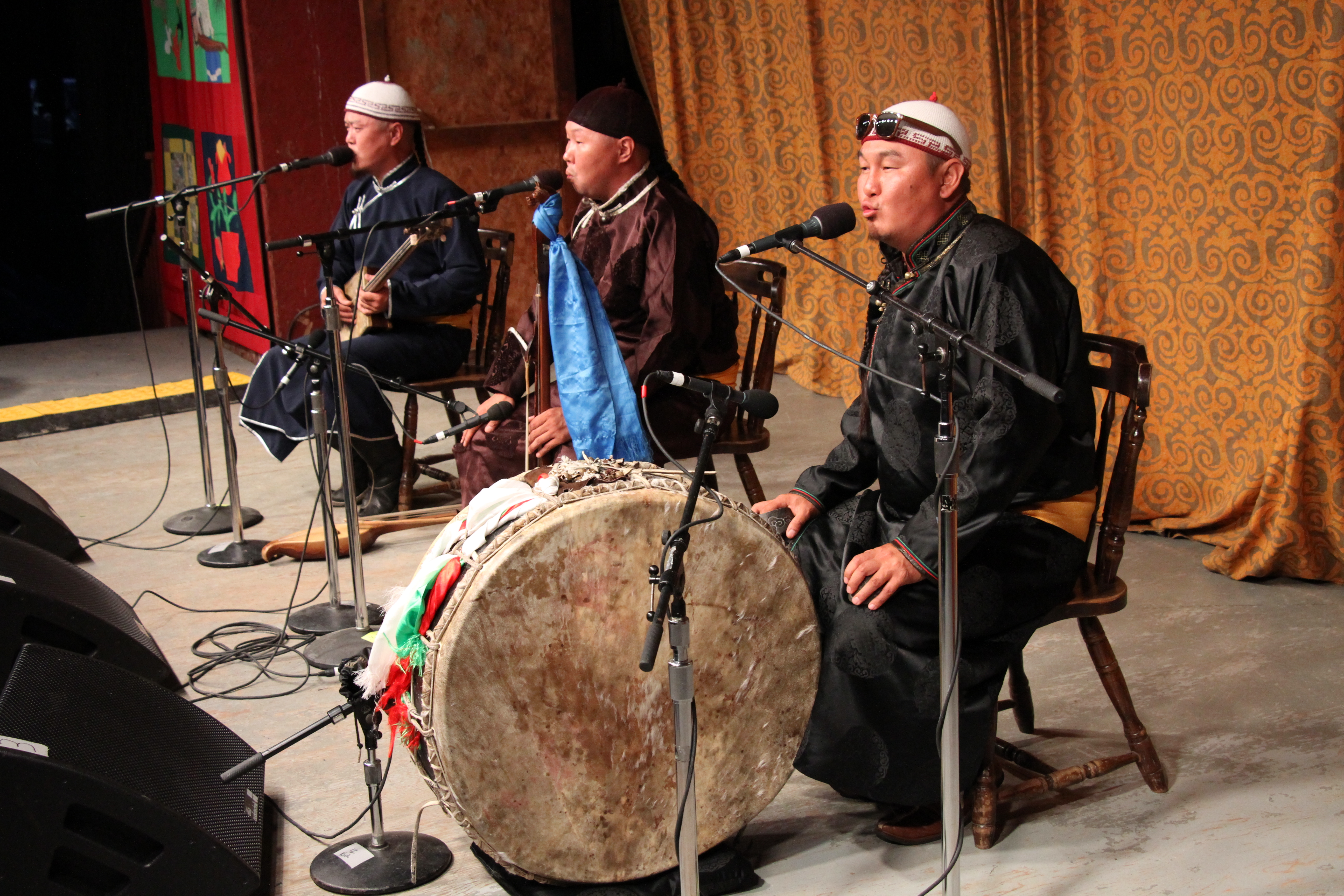 Tuvan throat singers, Alash, wow the audience at the 2017 Festival.