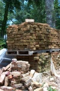 Reclaimed historic brick