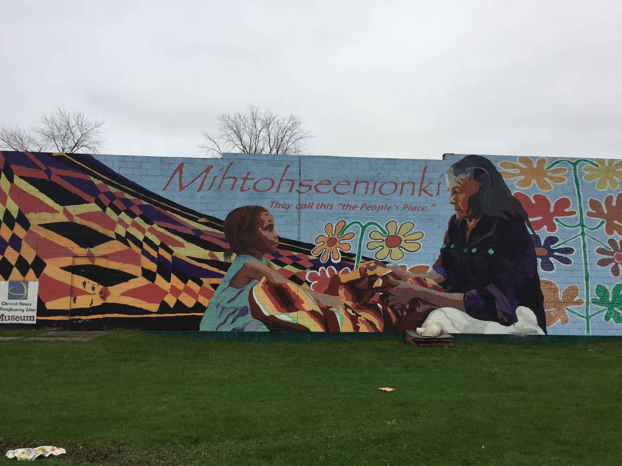 old southside 2017 great indy cleanup mihtohseenionki mural