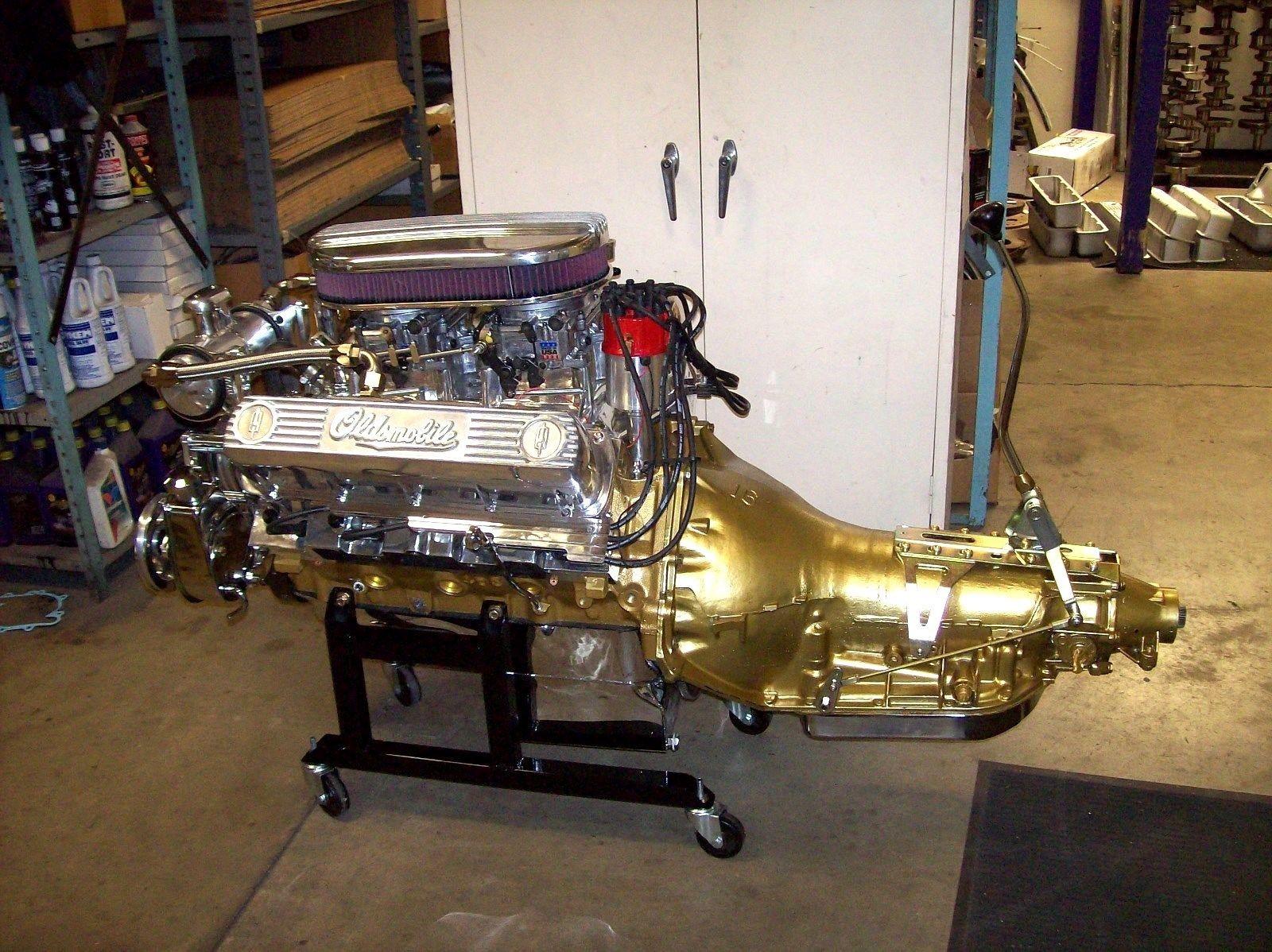 Oldsmobile 307,330,350,403,400,425,455 engine stands