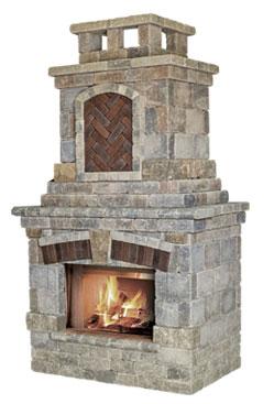 Unilock Fireplaces Old Station Landscape Amp Masonry