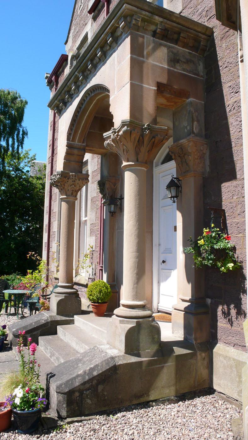 The Entrance Porch, Old St. Michaels