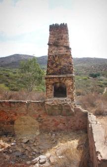Stone ruins, old stone homestead, San Diego, California, homesteaders