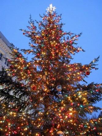 Ellicott City, Maryland, Christmas Tree, holiday home tour, Christmas home tour, old stone home, old stone house