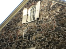 Mount Vernon Hotel, New York, holiday home tour, Christmas home tour, old stone home, old stone house, old stone hotel