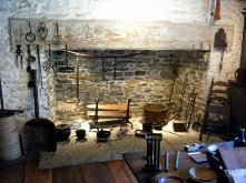 Henry Whitfield State Museum Open Hearth, Christmas home tour, holiday home tour, old stone home, old stone house, Connecticut