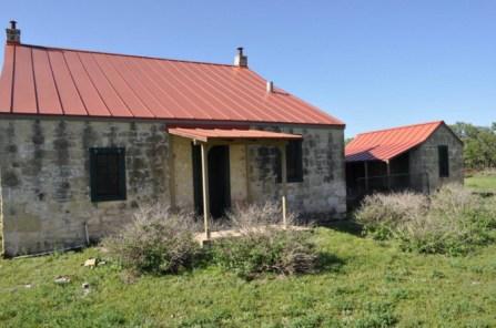 Fredericksburg, Texas, Pioneer homestead, old stone home for sale, old stone houses, old stone Smokehouse, historic preservation, masonry, fixer upper for sale