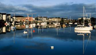 Dungarvan harbour County Waterford Ireland Irish country cottages, old stone homes for sale, old stone houses, old stone cottages, historic properties