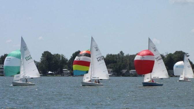 Crystal Lake Michigan Sailing, old stone homes for sale, lakefront properties, Michigan waterfront homes