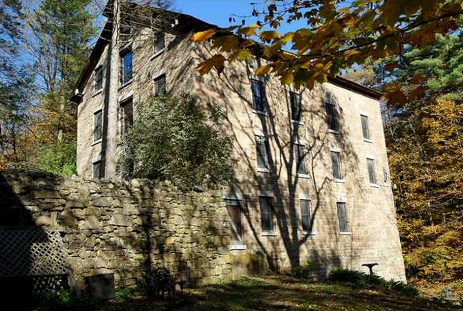 Beekman Brothers Mill Waterfall Home Saint Johnsville New York, The 1835 St. Johnsville Stone Mill, old mills for sale, old stone homes for sale, old stone houses, historic properties, mill photography