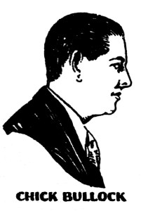"From early 1930s ""Perfect"" record sleeve. An illustration of the only known photograph of Bullock in his prime."