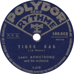 Tiger Rag, recorded November 7, 1934 by Louis Armstrong and his Orchestra