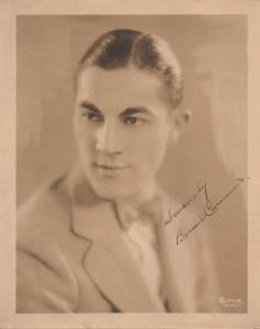 Bernie Cummins, Circa 1930.