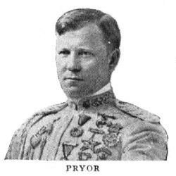 Arthur Pryor. From 1917 Victor catalog.