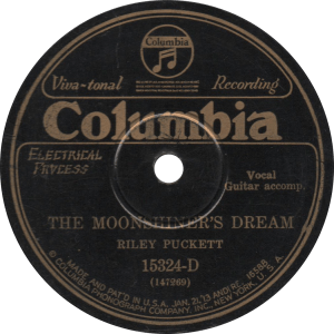 The Moonshiner's Dream, recorded